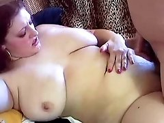 Chunky Red-haired With Big Hangers Kristina Boinked