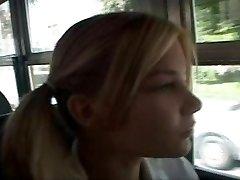 school bus girl
