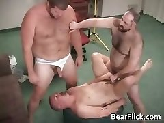 Homosexual hairy bear jizz and fucking hard-core part5