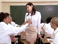 Japanese chick at school