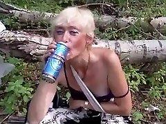 Ugly homless cockslut))