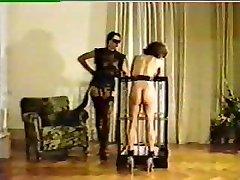 Mistress tortures and brands new damsel slave