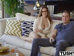 TUSHY First-ever Anal For Curvy Natasha Ultra-cute