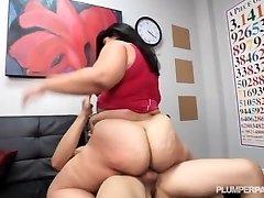 Massive Ass Latina Driving Instructor Fucks Hung Stud Student