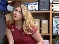 ShopLyfter - Molten Blonde Gets Caught Stealing And Need To Plumb The Officer