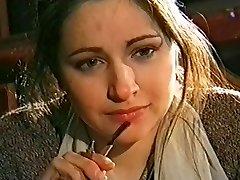 Luba Tikhomirova - actress of the Moscow theater Satyricon