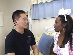 AMBW Beauty Dior interracial with Asian guy