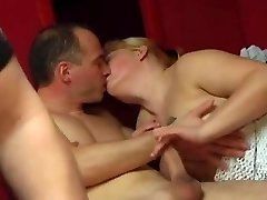 Naughty couples fuck really hard together