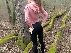 Woods Running, Anal Fucking, Public Cumming