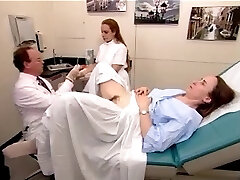 A real exam video from a unshaved mature woman 2