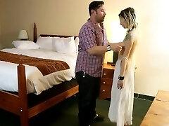 Ordering Room Service Sex Slave BJ/Facial