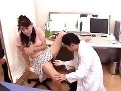 Fake medic to fuck japanese wife
