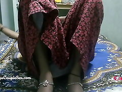 desi telugu indian village couple wife naked boned on floor