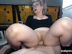 Veronique Horny Grandmother Cant Wait For You
