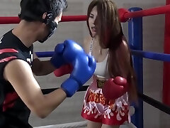 Chinese Brutish Mixed Boxing Ryona