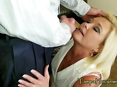 Insatiable Housewives Love CREAMPIES & FACIALS