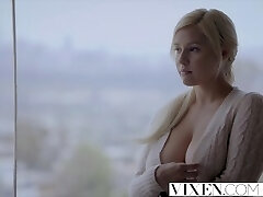Vixen.com Ultra-kinky Blonde plows her sisters man to make her jealous