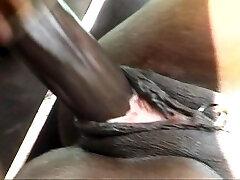 Ebony ass-fuck nailing is impressive