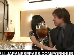 Chika Ishihara is fucked in gobbled poonanie