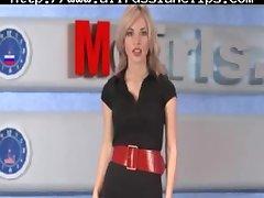 rusă moscova fata tv natasha volkova rusă ejaculări înghiți