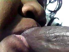 Ugly black fatty banged