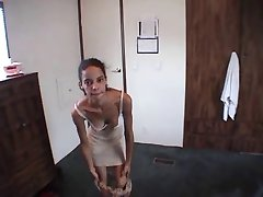 Sexy Shorthaired Teen Gets A POV Fucking