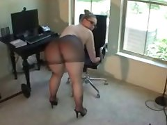 big ass in pantyhose