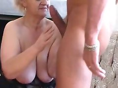 Sexy Blonde Granny Blows Young Thick Dick by TROC