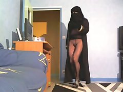 no panties niqab