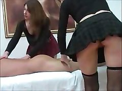 Two Hot Young Chicks Give Attention To Dick