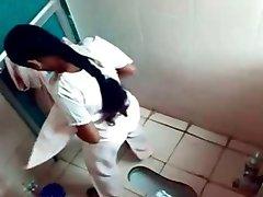 Bangla desi Dhaka Hostel Girls Hidden Cam in Toilet HQ