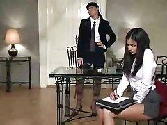 Naughty Lesbian Secretary...F70
