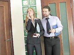 russian office secretary