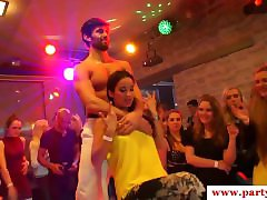 Euro bachelorette sucking off stripper