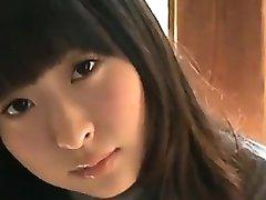 18 Rok Staré Asijské Dívka V Bílé Kalhotky