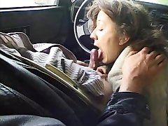 Outdoor anal ends with a car  BJ
