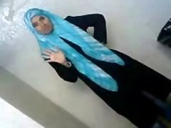 Sexy Arab College Student Reveals Her Assets To BF