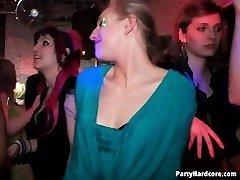 Fuckfest in a night club