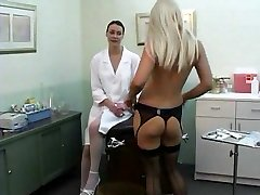 Girl-girl Nurse takes advantage PT1 DMvideos