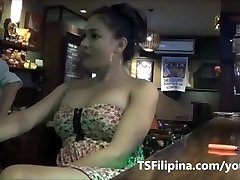 TS Filipina Transgender Princess Likes Getting Her Ass Fucked