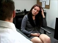 4 Eyed Bore Casey Gets Fucked At The Office
