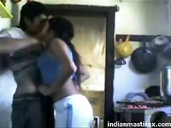 indian nephews ravaging in kitchen and moaning
