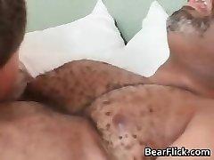 Gay black bear has fine sex as he deep throats part6