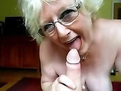 granny nice bj and mistress gives hefty cock hj