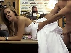 Blonde In Her Wedding Dress Doggsytyled In Pawn Supermarket