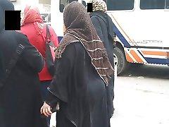 Candid Arab Ass - Big Butt - Street Voyeur - Mature Booty