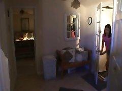 Mom Watches 2 Girls 'N Boyfriend