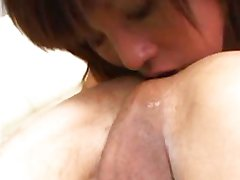 Asian milf blowjob rimjob oral