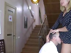 Doctor Gets her Pussy Licked by a Patient by snahbrandy