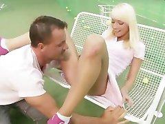 Tennis Player Fucked In Her Bum
